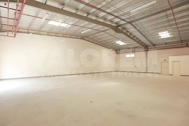 2 New Large Size warehouse for rent in Al-Sajah Ind. Area