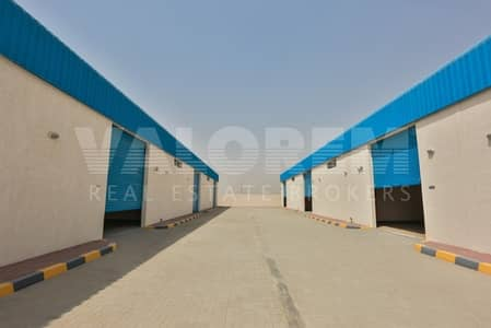 Warehouse for Rent in Emirates Industrial City, Sharjah - Brand New warehouses for rent in Al-Sajah Ind. Area Sharjah