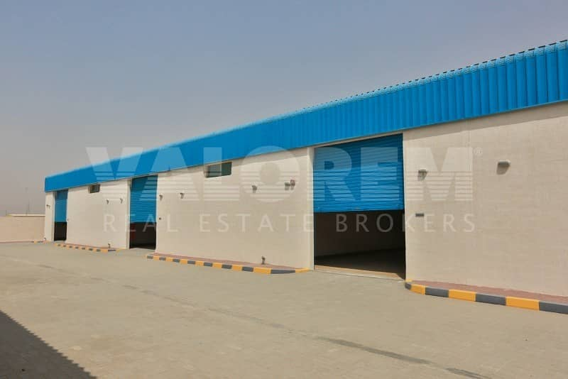 Brand New Large Size warehouse for rent in Al-Sajah Sharjah