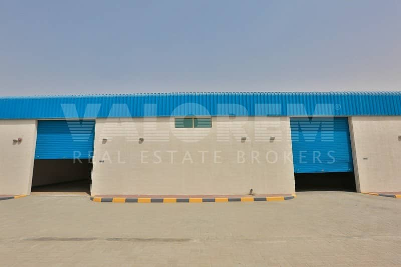 2 Brand New Large Size warehouse for rent in Al-Sajah Sharjah
