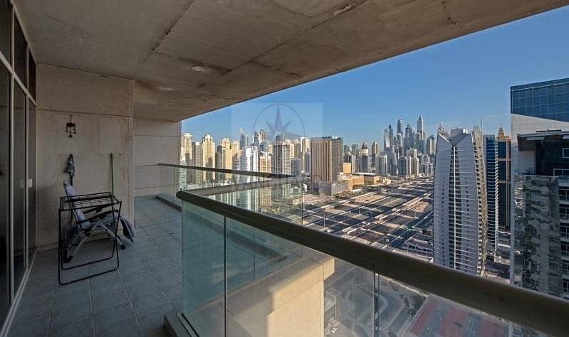 Spacious 3 Bedroom with Maid's room in Palladium Tower