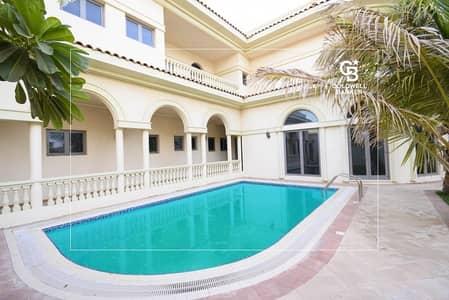 5 Bedroom Villa for Rent in Palm Jumeirah, Dubai - LUXURY SIGNATURE VILLA   FURNISHED