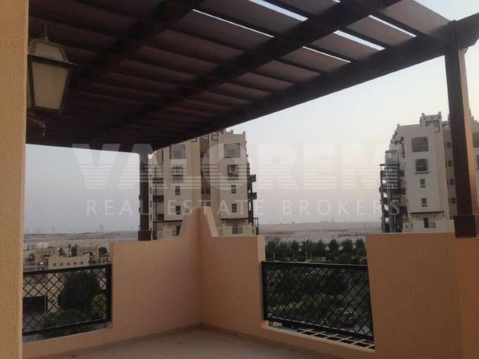 2 SPACIOUS 2 BHK | COMMUNITY VIEW | WITH TERRACE 1501 SQ FT.