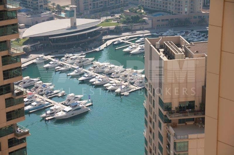 2 HIGH FLOOR|FULLY FURNISHED|SEA/MARINA VIEW|RENTED|