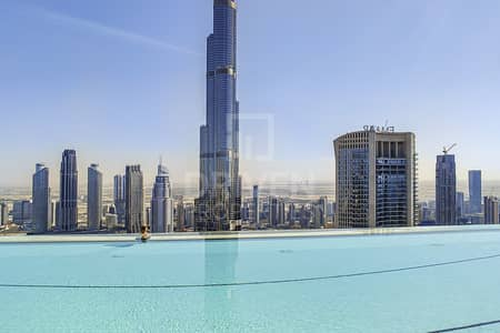Beautiful 1Bed | Burj Khalifa & Sea View