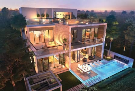 5 Bedroom Villa for Sale in DAMAC Hills (Akoya by DAMAC), Dubai - Melrose Estates Limited Edition Golf Villas at Damac Hills
