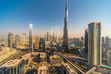 5 Bedroom Penthouse for Sale in Downtown Dubai, Dubai - Full Furnished | High Floor | Burj Khalifa View