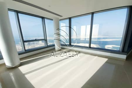 4 Bedroom Apartment for Rent in Al Reem Island, Abu Dhabi - Amazing View   High Level 4BR+M+S with Skypod
