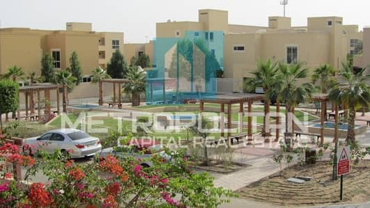 3 Bedroom Townhouse for Rent in Al Raha Gardens, Abu Dhabi - Exceptionally Stunning| Big Balcony| Garden View