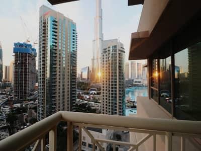 شقة في 29 بوليفارد 2 بوليفارد 29 وسط مدينة دبي 2 غرف 100000 درهم - 4950295