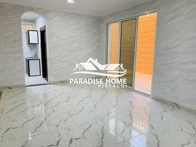 1 Bedroom Apartment for Rent in Al Rahba, Abu Dhabi - Brand New ! 1 BHK With Yard in Al Rahba