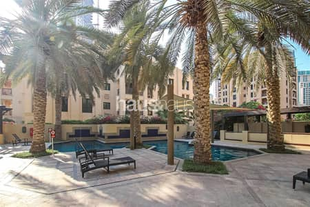 1 Bedroom Apartment for Rent in Old Town, Dubai - Large Layout | Bright Unit | Chiller Free