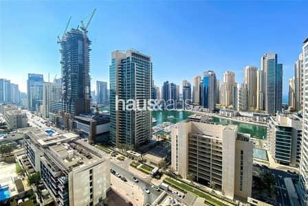 فلیٹ 3 غرف نوم للايجار في دبي مارينا، دبي - 3 Bed | Maids | Marina Views | High Floor