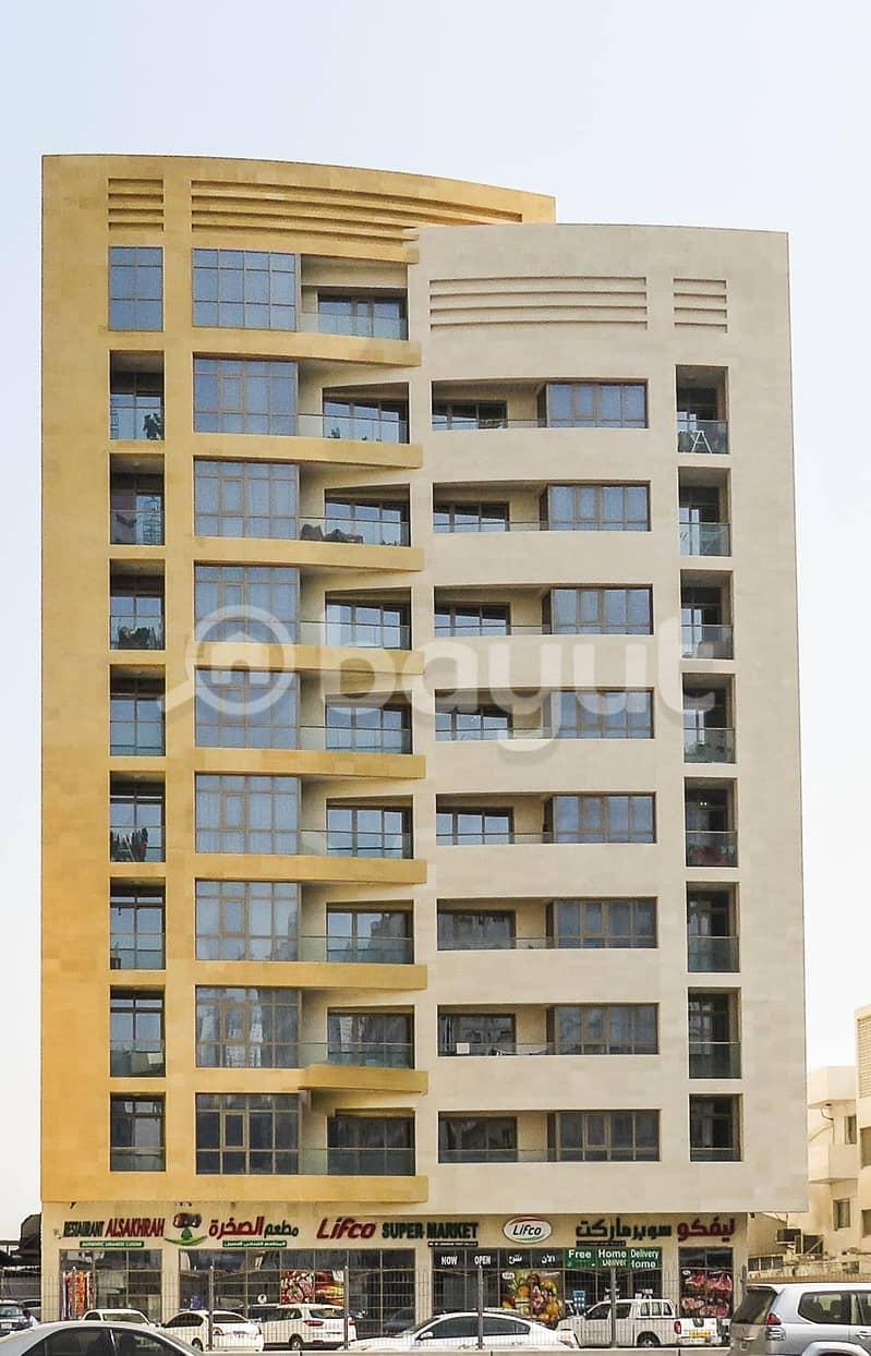 2 BEDROOMS  FOR RENT AT AL WAHDA ST. SHARJAH