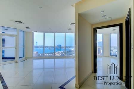 3 Bedroom Flat for Rent in Dubai Marina, Dubai - Unique Tower | Full Sea View | Beautiful apartment