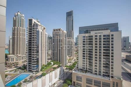 1 Bedroom Flat for Rent in Downtown Dubai, Dubai - 1BR Apt | Generous Size Balcony | Study room