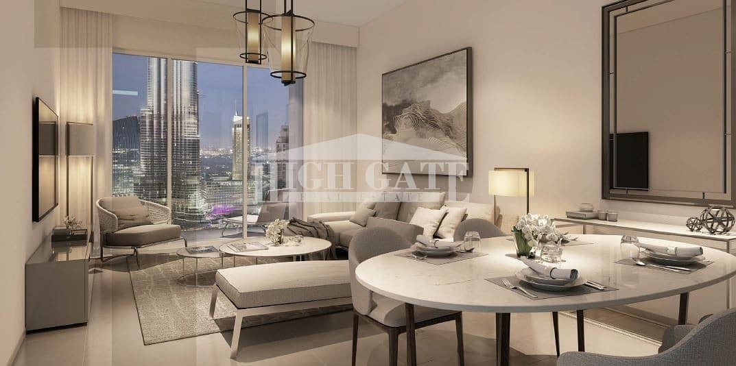 2 NO COMM ! 3BR LUXIRIOUS APT DOWNTOWN FOUNTAIN VIEW 2YRS PP