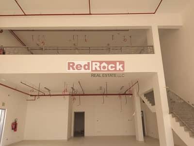 معرض تجاري  للايجار في السجع، الشارقة - Brand New Road Facing  Showroom  for Rent In Sajja Area