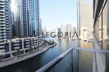 شقة 1 غرفة نوم للايجار في دبي مارينا، دبي - 1 Bed Plus Separate Study