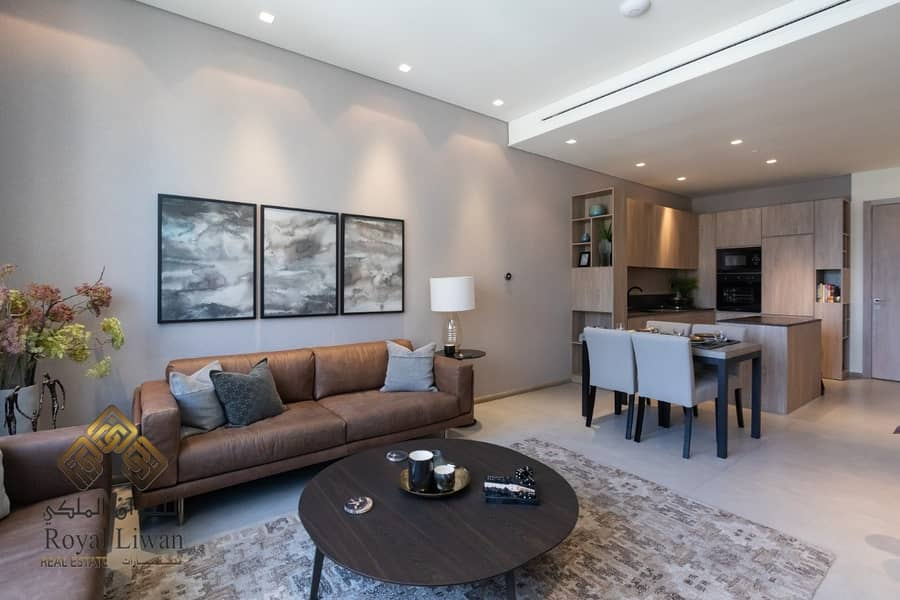2 Sustainable living Brand new 1BR Smart Apartment for Sale in Signature living JVC