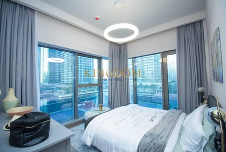 2 Bedroom Apartment for Rent in Jumeirah Lake Towers (JLT), Dubai - Luxury furnished 2BR l Brand new l MBL (Water Front Residence)