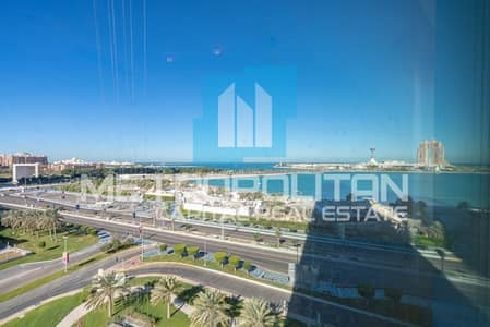3 Bedroom Flat for Rent in Corniche Area, Abu Dhabi - 3 Payments| Renowned Tower |Prestigious Quality