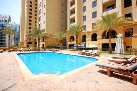 3 Bedroom Apartment for Rent in Jumeirah Beach Residence (JBR), Dubai - Large Layout | Dubai Eye/Sea Views | 3Bed+Maid's