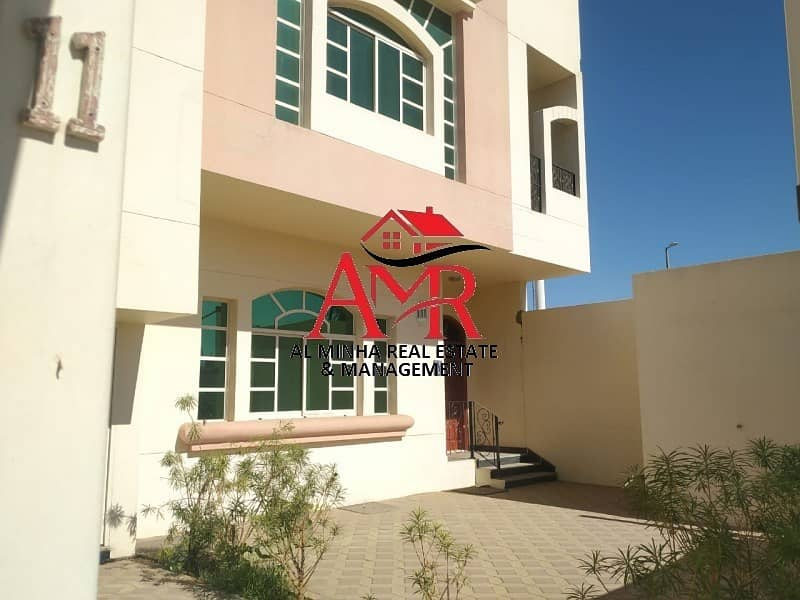 3 Br With Private Entrance & Private Yard | Maid room with Bath