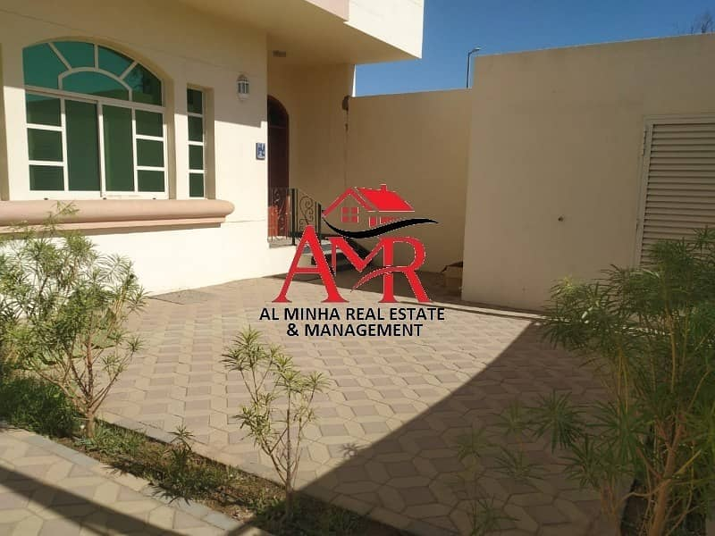 Private Entrance 3 Br With Private Yard | Maid room