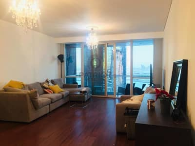 luxurious| Sea View Furnished 3 Beds+ Maid For Rent