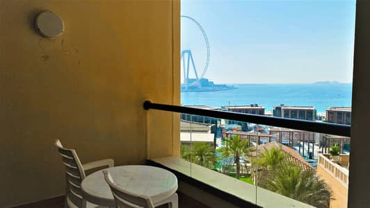 2 Bedroom Hotel Apartment for Rent in Jumeirah Beach Residence (JBR), Dubai - Long Term Lease   Furnished   Inclusive of Utility Bills