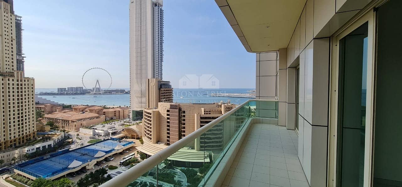 2BR for Rent with Sea View I Great Layout I Vacant