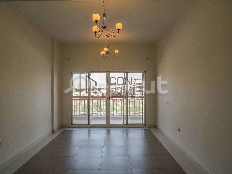 EXCITING OFFER JUST 38K Upto 12 Chqs 1BR with Kitchen Appliances in New Bldg