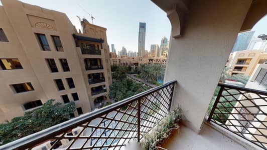 1 Bedroom Apartment for Rent in Old Town, Dubai - Half commission | Pool views | Kitchen appliances