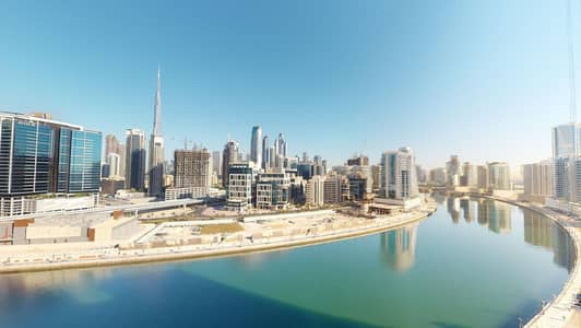 2 Bedroom Flat for Rent in Business Bay, Dubai - Half commission | Dubai Creek views | Kitchen appliances