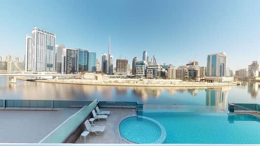 3 Bedroom Apartment for Rent in Business Bay, Dubai - Half commission | Amazing views | Kitchen appliances