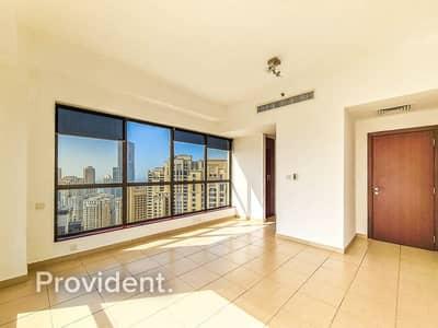 شقة 2 غرفة نوم للايجار في جميرا بيتش ريزيدنس، دبي - Full Marina View | Upgraded | High Floor