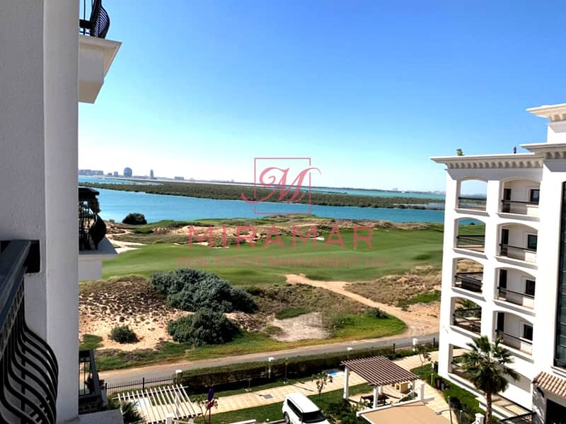 HOT!!! SEA AND GOLF VIEW!!! 2 BALCONIES!! LARGE LUXURY UNIT!