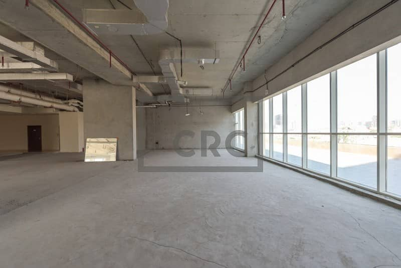 2 Retail Space | 55 AED Per Sq Ft | Shell and Core