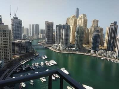 2 Bedroom Apartment for Rent in Dubai Marina, Dubai - 2 Bed   Unfurnished   Panoramic Marina View