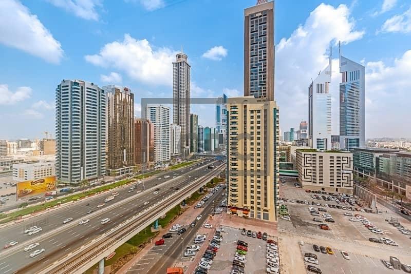16 Sheikh Zayed Road|DEWA and Chiller|Close to Metro