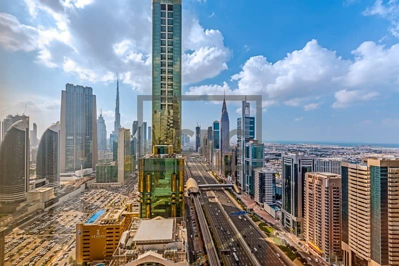 14 Sheikh Zayed Road|DEWA and Chiller|Close to Metro