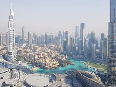 3 Bedroom Apartment for Rent in Downtown Dubai, Dubai - Move In today   Furnished   Burj Khalifa View