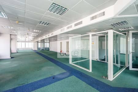 Floor for Rent in Sheikh Zayed Road, Dubai - Half Floor | Fitted and Partitioned Office