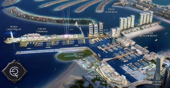 2 Bedroom Flat for Sale in Dubai Harbour, Dubai - Luxury 1 Bedroom Beach Isle  3 years installments + DLD WAIVER!