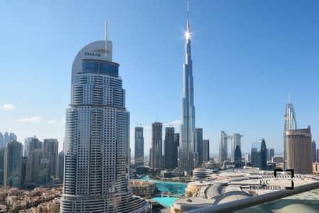 1 Bedroom Flat for Sale in Downtown Dubai, Dubai - Vacant 1Br Full Fountain Views Mid Floor