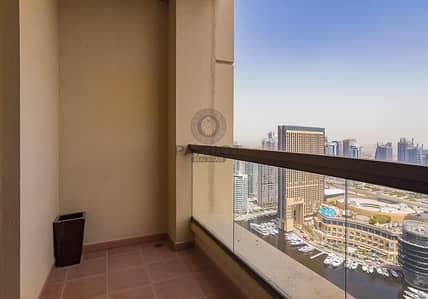 2 Bedroom Apartment for Sale in Jumeirah Beach Residence (JBR), Dubai - 2 BHK PLUS MAID ROOM | MARINA VIEW | BAHAR 1