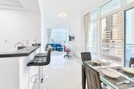 1 Bedroom Apartment for Sale in Dubai Marina, Dubai - Exclusive | Fully Furnished | Palm & Marina View