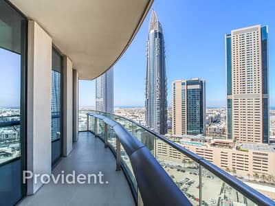 2 Bedroom Apartment for Rent in Downtown Dubai, Dubai - Luxury Living | Ocean Views | Large Balcony