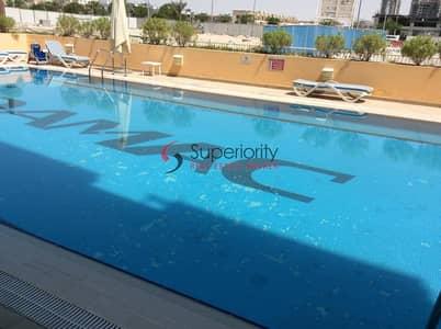 استوديو  للايجار في قرية جميرا الدائرية، دبي - Fully furnished | With Parking | With Balcony | Studio for rent in Arezzo 1.